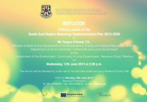 SE Bioenergy Plan 2013-2020